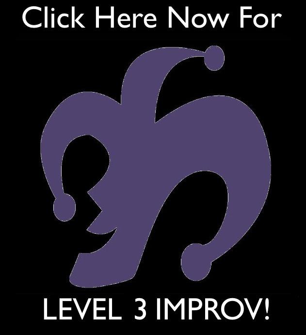 Adult Improv Class-Level 3 (Thursdays)