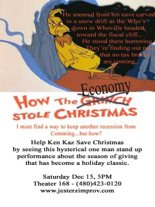 Ken Kaz - How The Economy Stole Christmas