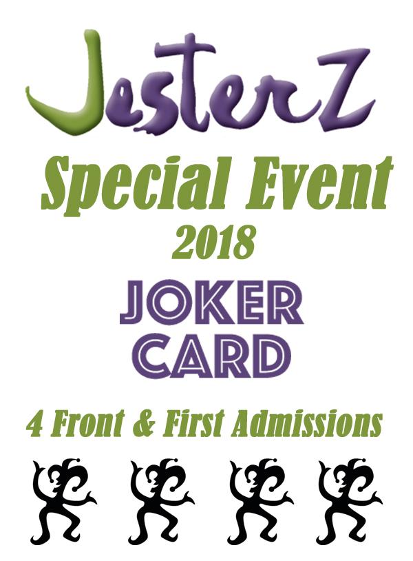 SPECIAL EVENT JOKER CARD 2018